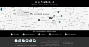 Central Hoteles Interactive Map
