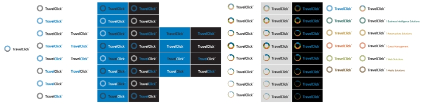 TravelClick logo concepts