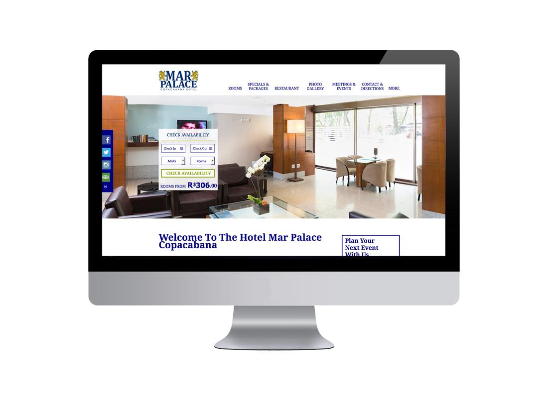 Mar Palace Desktop Design