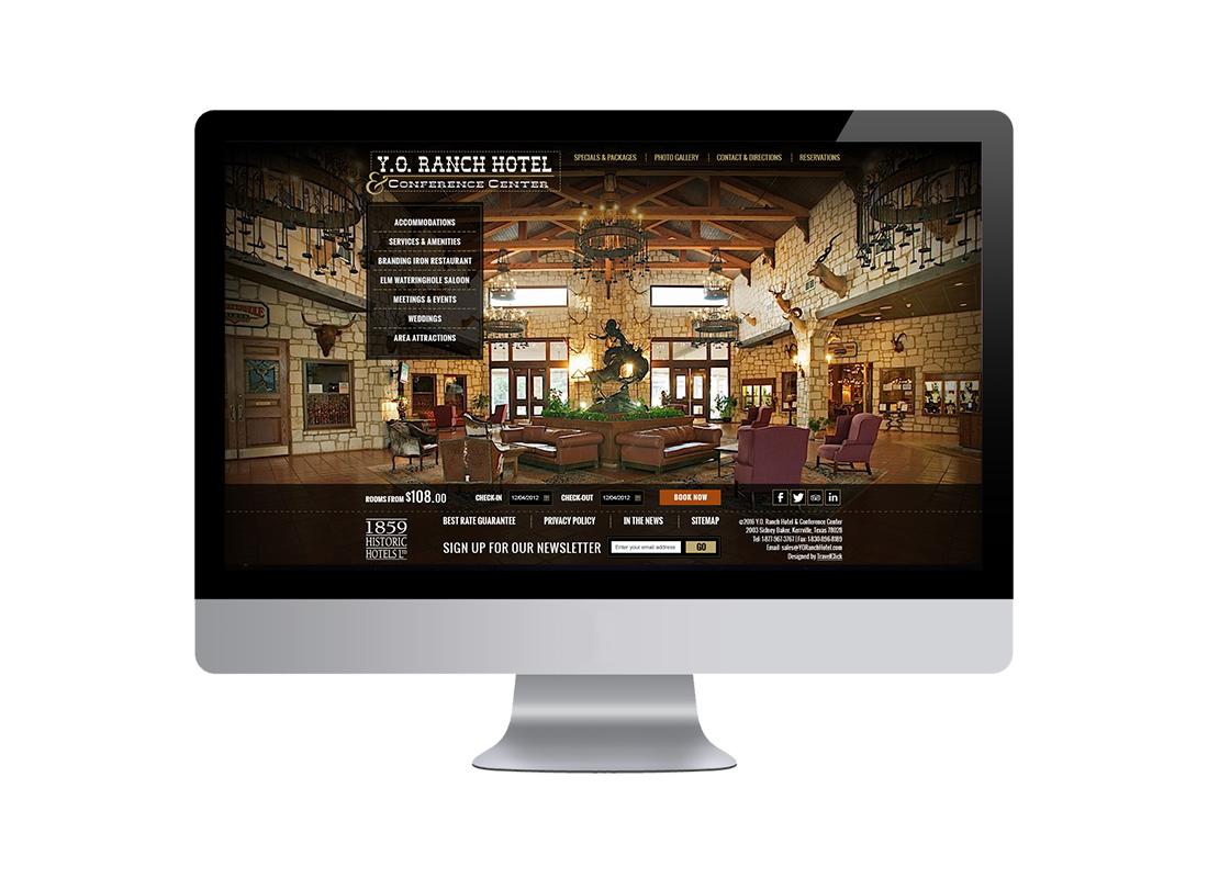 YO Ranch Desktop Design